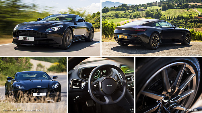 Aston Martin DB11 Ultramarine Black
