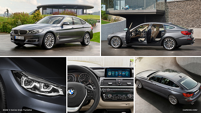 2017 BMW 3-Series 330i GT Luxury (Color: Arctic Gray)