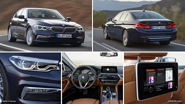 2017 BMW 5-Series Luxury Line