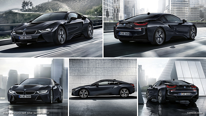 BMW i8 Protonic Dark Silver Special Edition