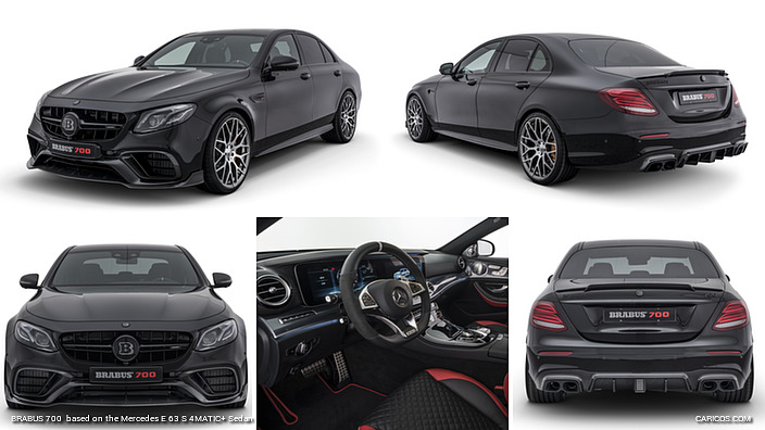 BRABUS 700  based on the Mercedes E 63 S 4MATIC+ Sedan