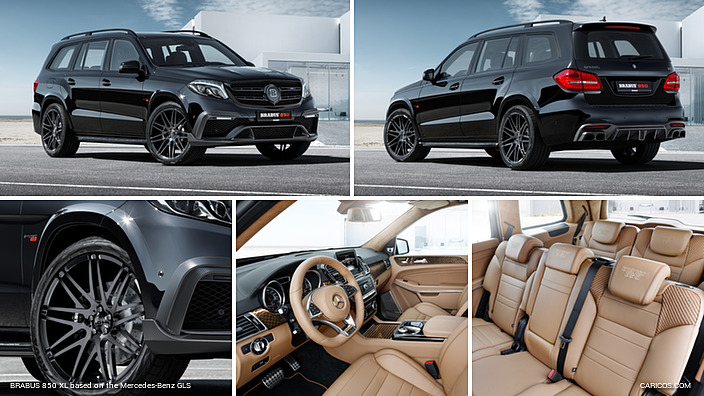 2017 Brabus 850 Xl Based On The Mercedes Benz Gls 63 4matic