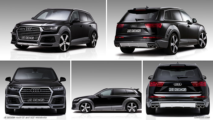 JE DESIGN Audi Q7 and SQ7 Widebody