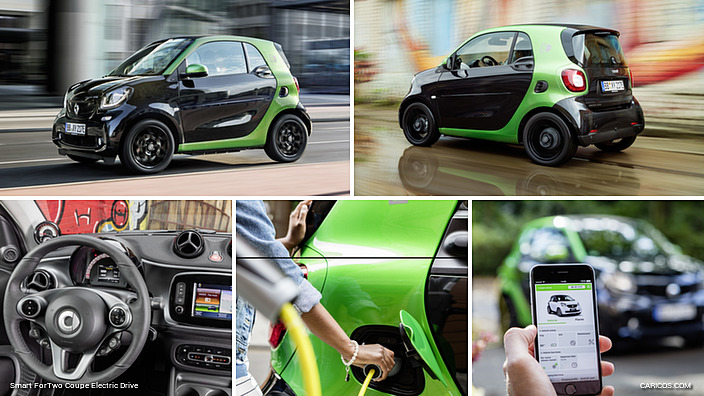 2017 Smart Fortwo Coupe Electric Drive Caricos