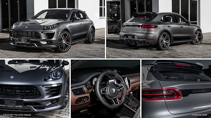 2017 TECHART Porsche Macan Grey