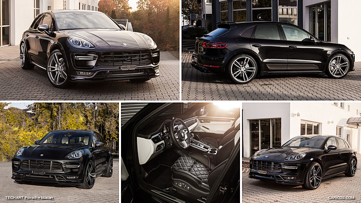 2017 TECHART Porsche Macan Black