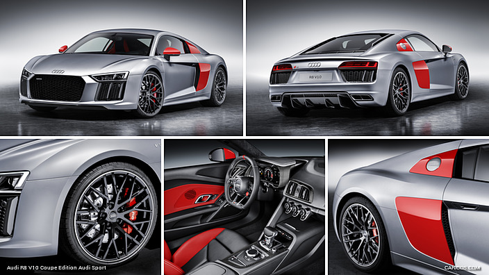 Wonderful Audi R8 V10 Coupe Edition Audi Sport