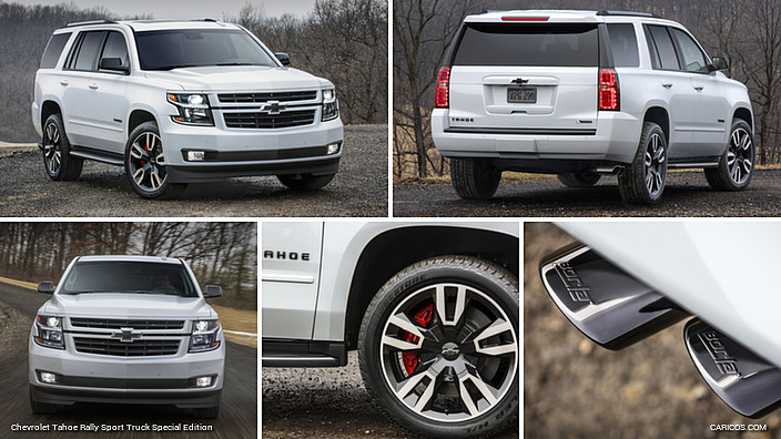 2018 Chevrolet Tahoe Rally Sport Truck Special Edition Caricos