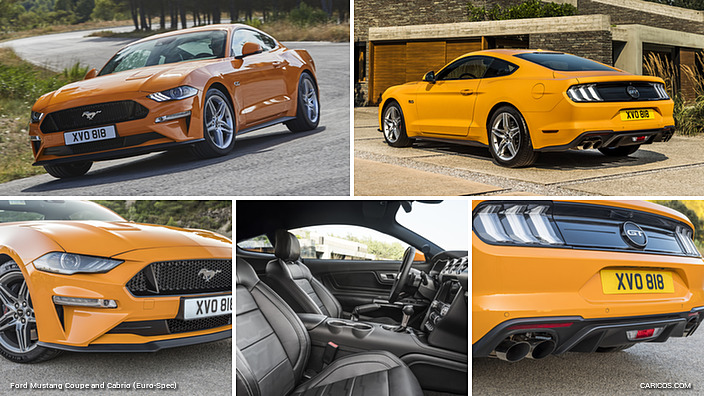 2018 Ford Mustang Coupe (Euro-Spec)