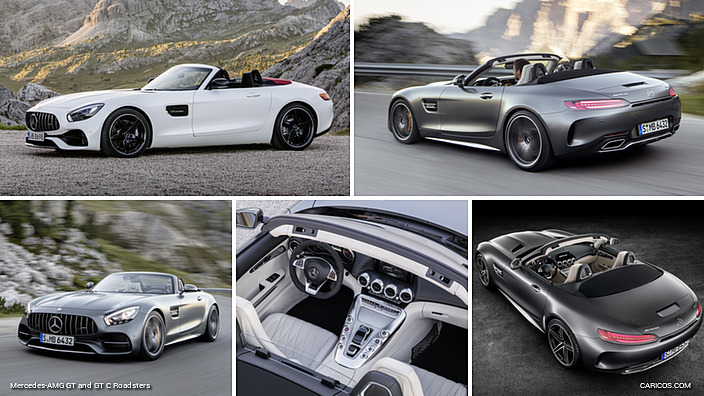 Mercedes-AMG GT and GT C Roadsters