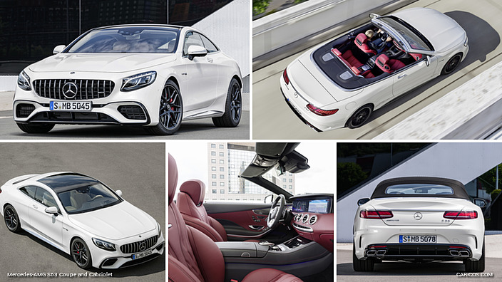 Mercedes-AMG S63 Coupe and Cabriolet