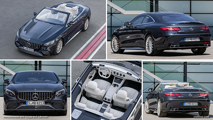 Mercedes-AMG S65 Coupe and Cabriolet