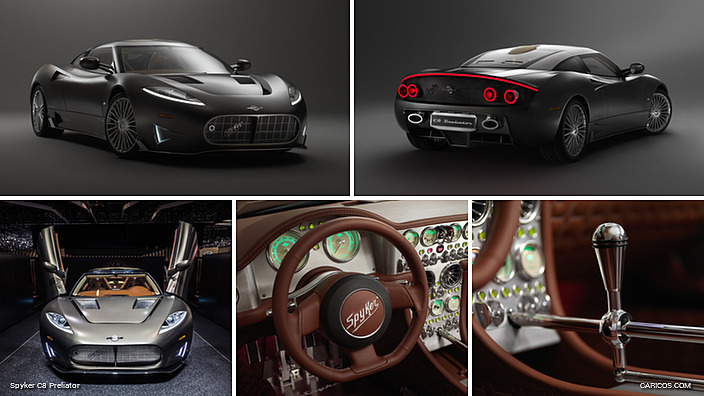 Spyker C8 Preliator powered by Koenigsegg