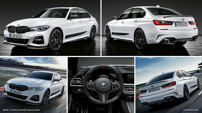2019 bmw 3 series m performance parts caricos comvisual and tactile interior highlights