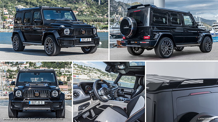 BRABUS 700 Widestar based on Mercedes-AMG G 63