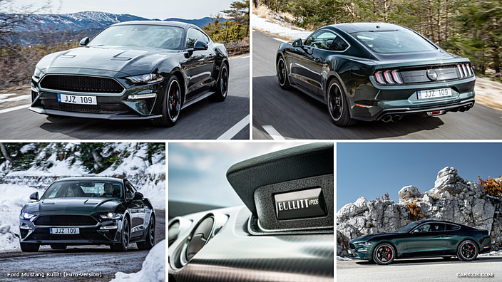 Ford Mustang Bullitt (Euro-Version)