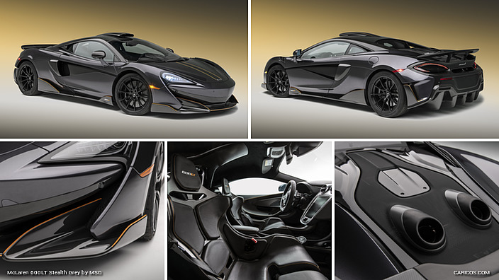 2019 Mclaren 600lt Stealth Grey By Mso Caricos Com