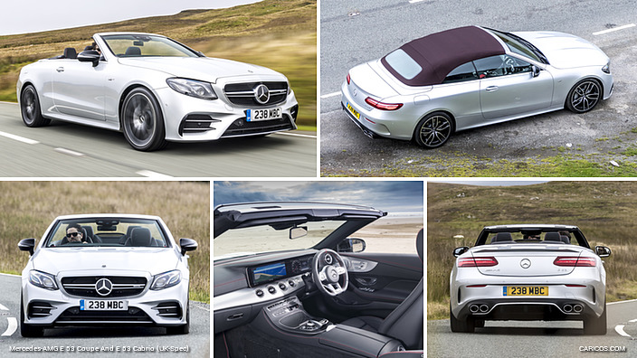 2019 Mercedes-AMG E 53 Cabrio (UK-Spec)