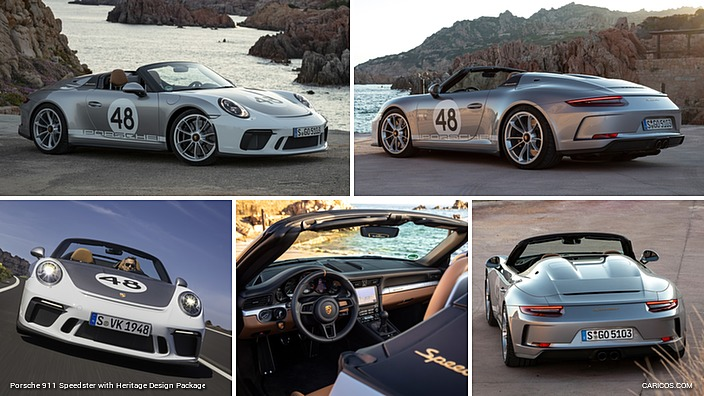 Porsche 911 Speedster with Heritage Design Package
