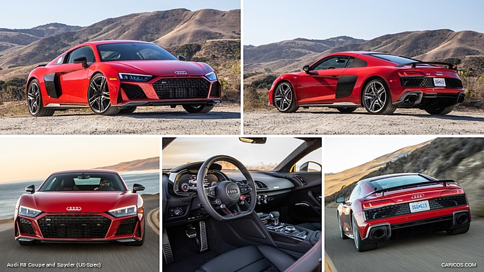 2020 Audi R8 Coupe (US-Spec)