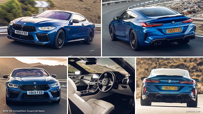 BMW M8 Competition Coupe (UK-Spec)