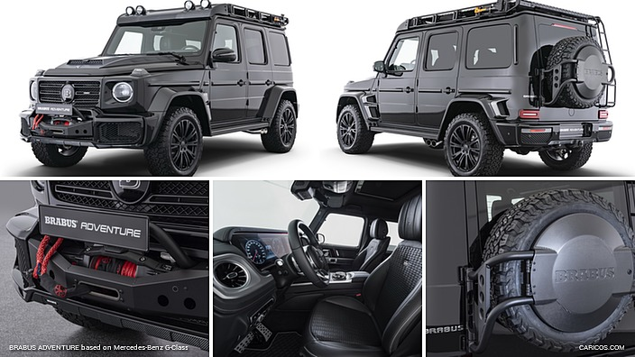 BRABUS ADVENTURE based on Mercedes-Benz G-Class