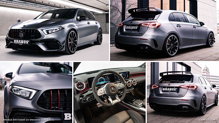 BRABUS B45 based on Mercedes-AMG A45 S