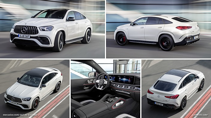 Mercedes-AMG GLE 63 S Coupe (US-Spec)