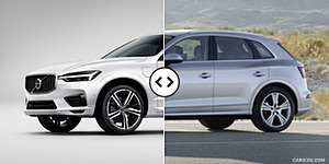 2018 Volvo XC60 vs. 2018 Audi Q5 Front Three Quarter