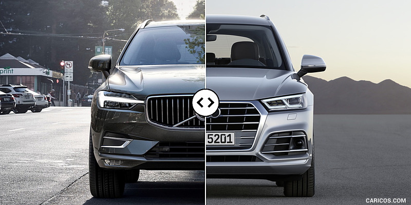 2018 Volvo XC60 vs. 2018 Audi Q5: Front - Comparison #3