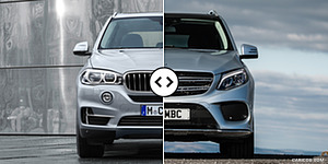 BMW X5 vs. Mercedes GLE