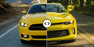 Ford Mustang vs. Chevrolet Camaro