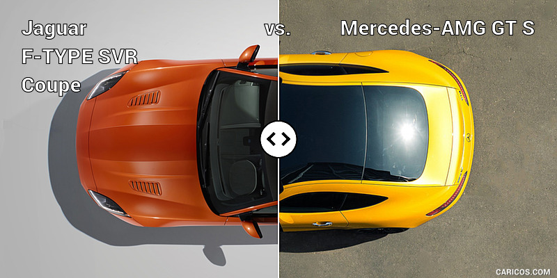 Jaguar F-TYPE SVR Coupe vs. Mercedes-AMG GT S : Top