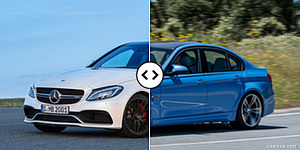 Mercedes-AMG C63 Sedan vs. BMW M3 Sedan