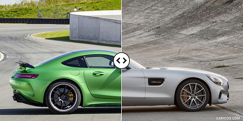 Mercedes-AMG GT R vs. GT S: Side - Comparison #4