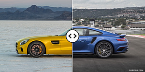 Mercedes-AMG GT S vs. Porsche 911 Turbo