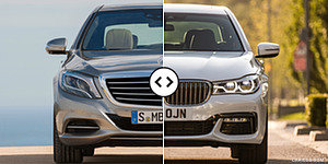Mercedes S-Class vs. BMW 7-Series