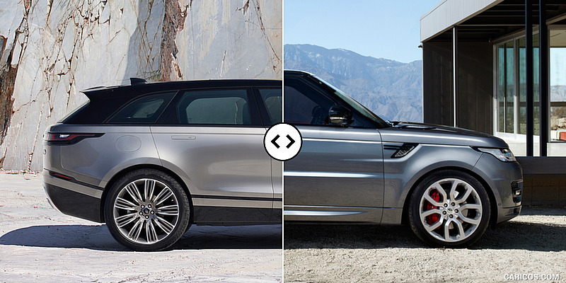 Difference Between Land Rover And Range Rover >> Range Rover Velar vs. Sport