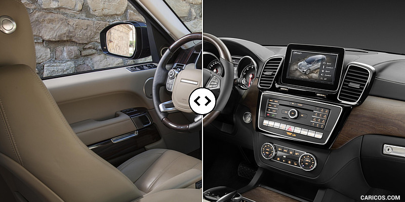 Range Rover Vs Mercedes Benz Gls Interior Comparison 4