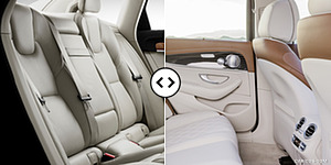 Volvo S90 vs. Mercedes E-Class : Interior, Rear Seats