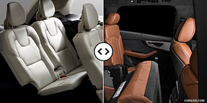 Volvo XC90 vs. Audi Q7 : Interior, Third Row Seats