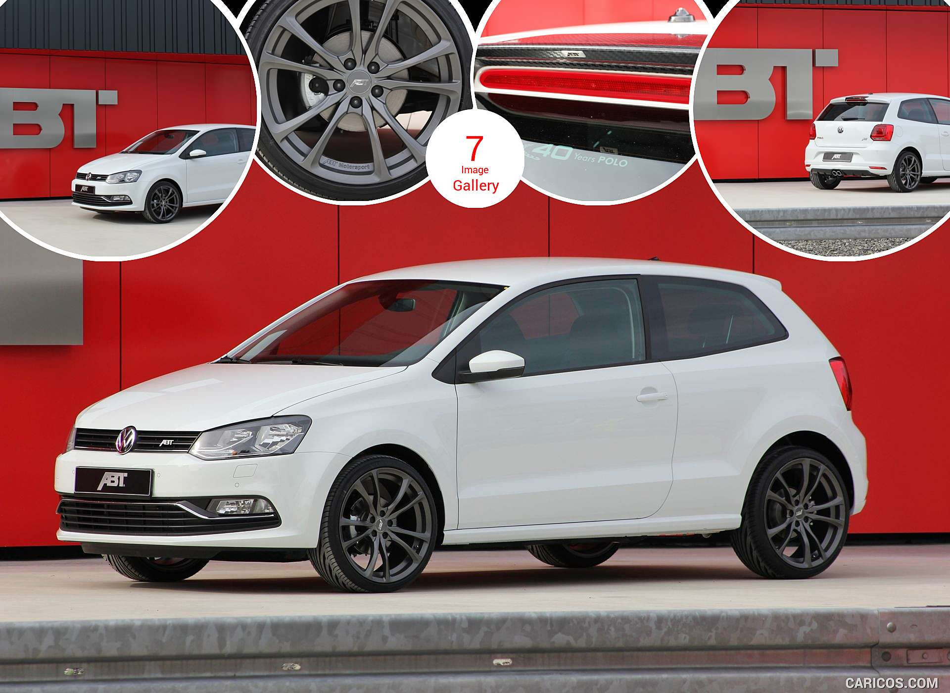 2016 ABT VW Polo 40 Years Edition