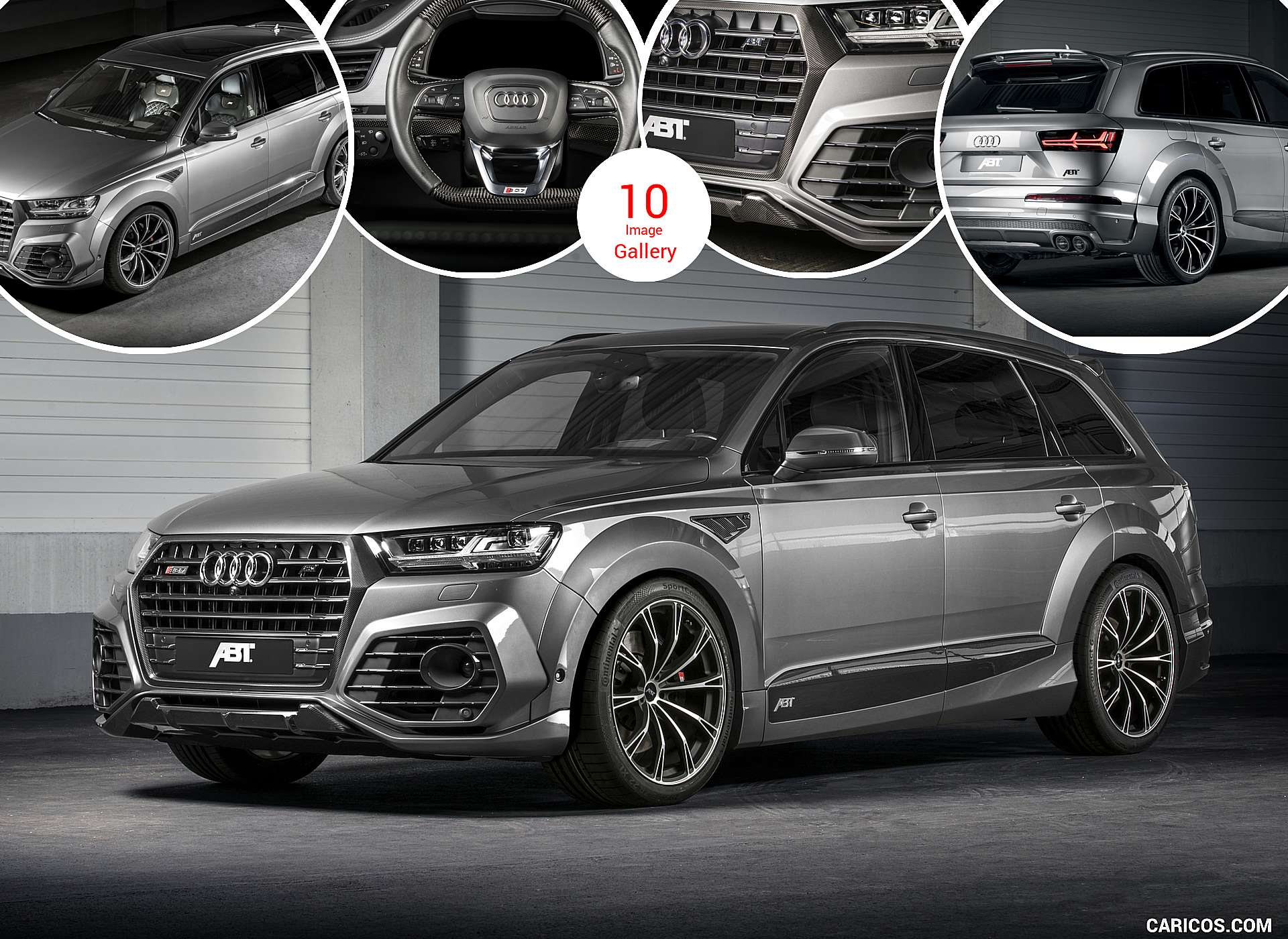 2017 abt sq7 widebody based on audi q7. Black Bedroom Furniture Sets. Home Design Ideas