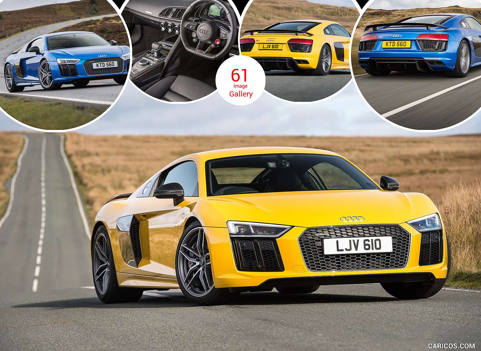 2016 Audi R8 V10 Plus (UK-Spec)