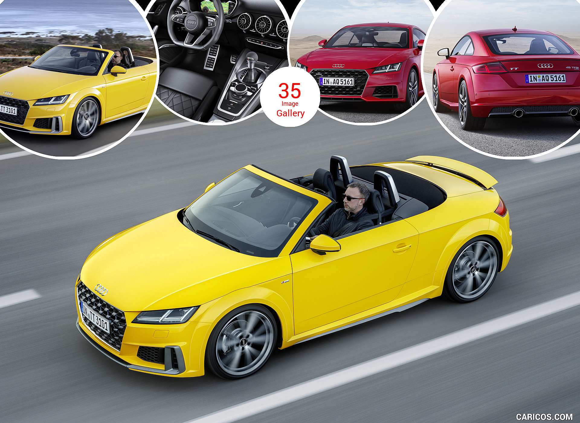 2019 Audi TT Coupe and Roadster