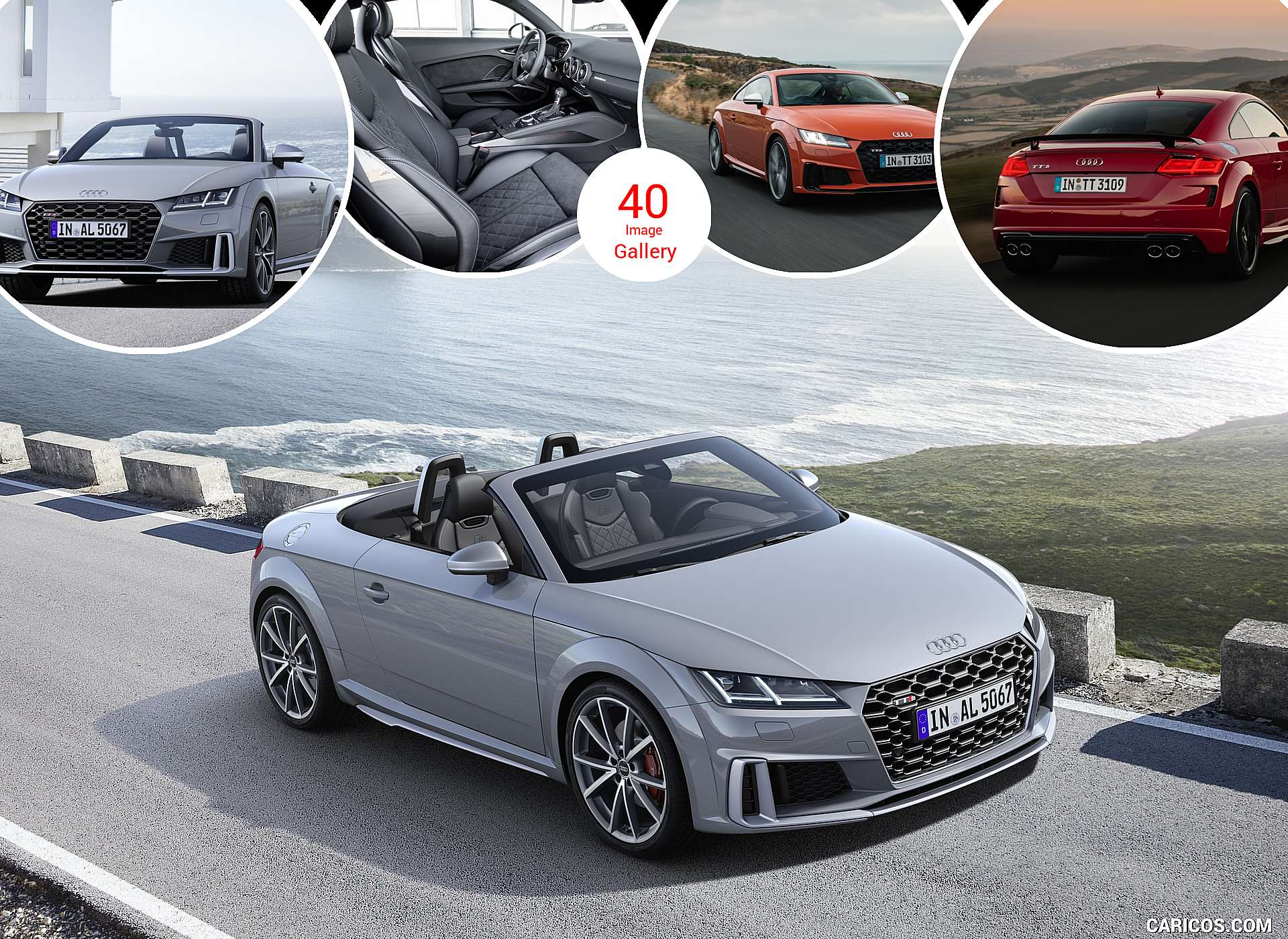 2019 Audi TTS Coupe and Roadster