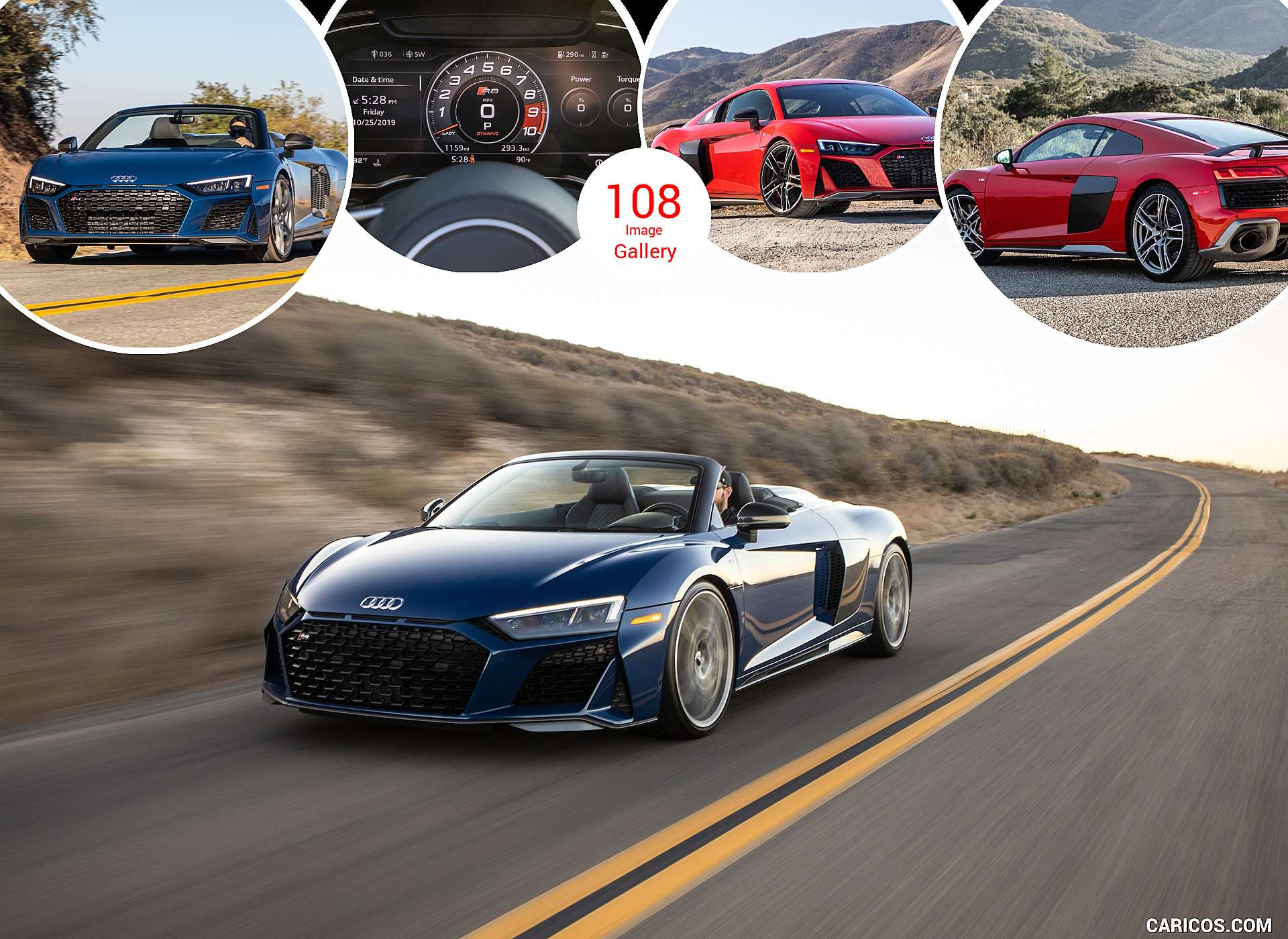 2020 Audi R8 Coupe and Spyder (US-Spec)