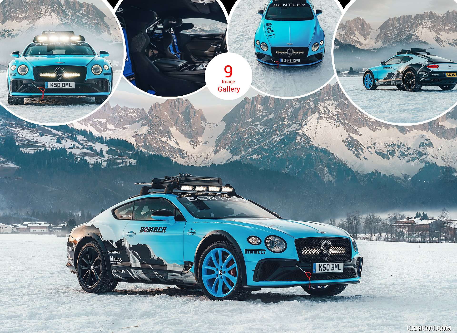 2020 Bentley Continental GT GP Ice Race