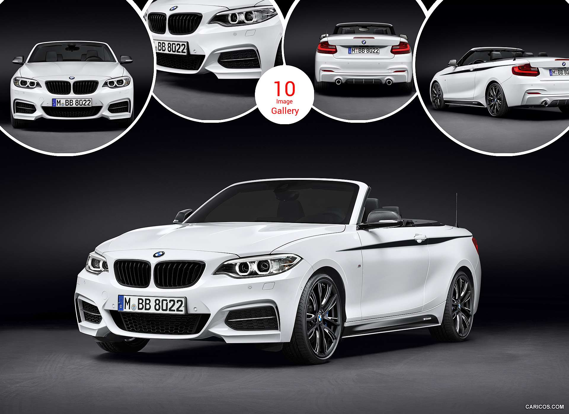 2015 BMW 2-Series Convertible M Performance Parts