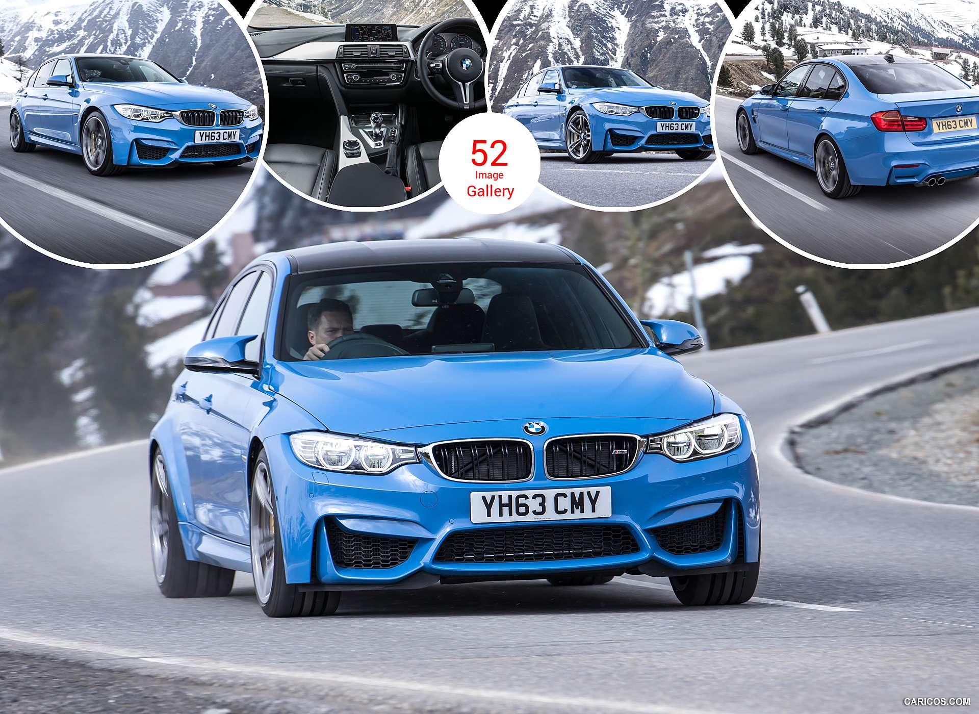 2015 BMW M3 Saloon (UK-Version)
